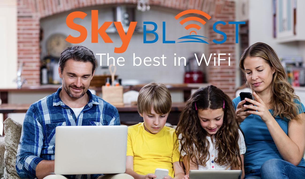 SkyBLAST The Best in WiFi